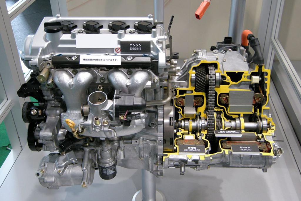Силовая установка Toyota Hybrid