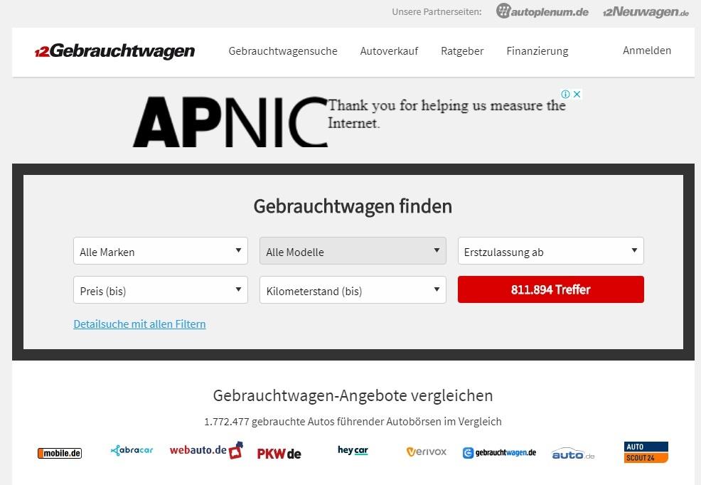 6030ca22adf1a Лучшие сайты объявлений по продаже авто в Германии
