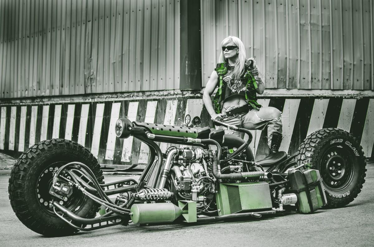 Самый необычный самодельный мотоцикл