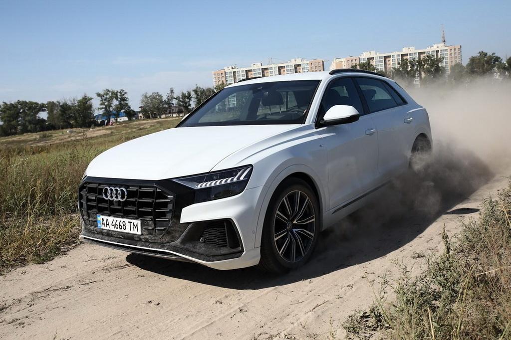 Как выглядит Audi Q8
