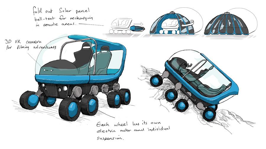 Как выглядели бы автомобили от Ikea, Instagram, Amazon и Sony