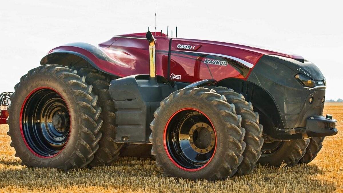 Беспилотный трактор Case IH