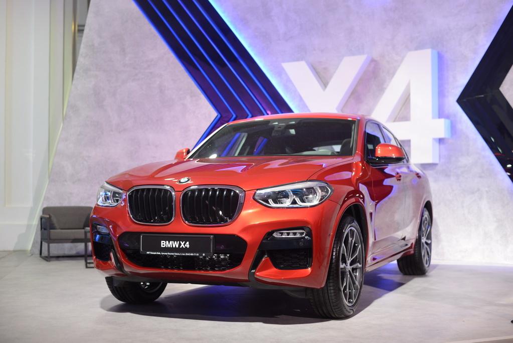 Как выглядит новый BMW X4 2018