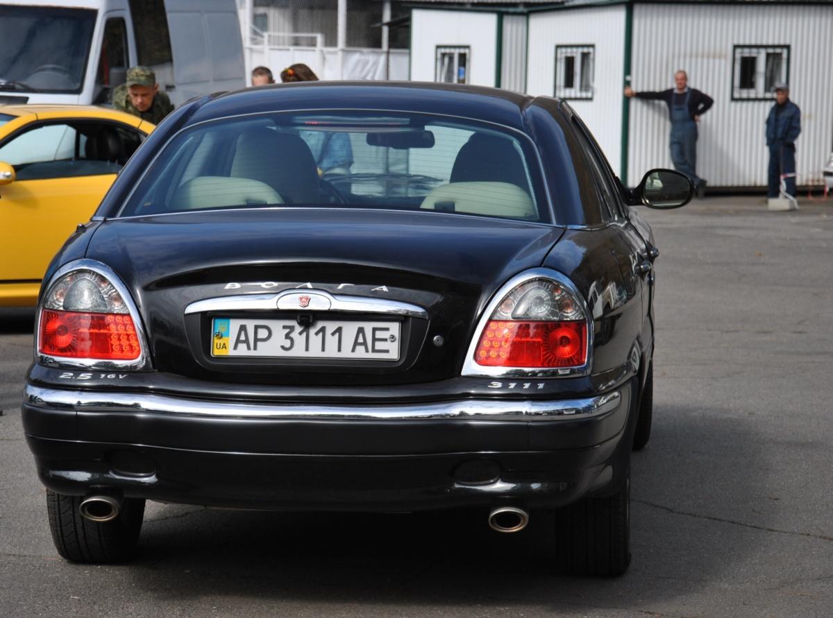 В Украине показали раритетную Волгу ГАЗ-3111