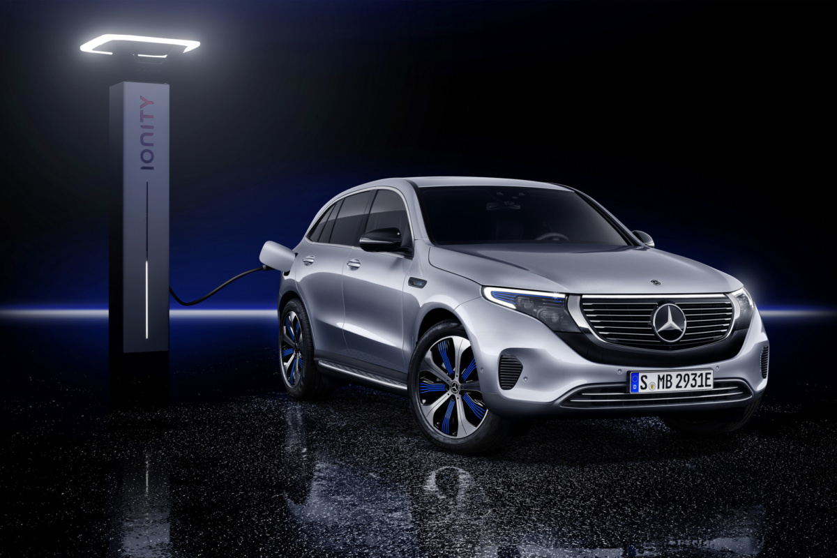 Электрокроссовер Mercedes-Benz EQC