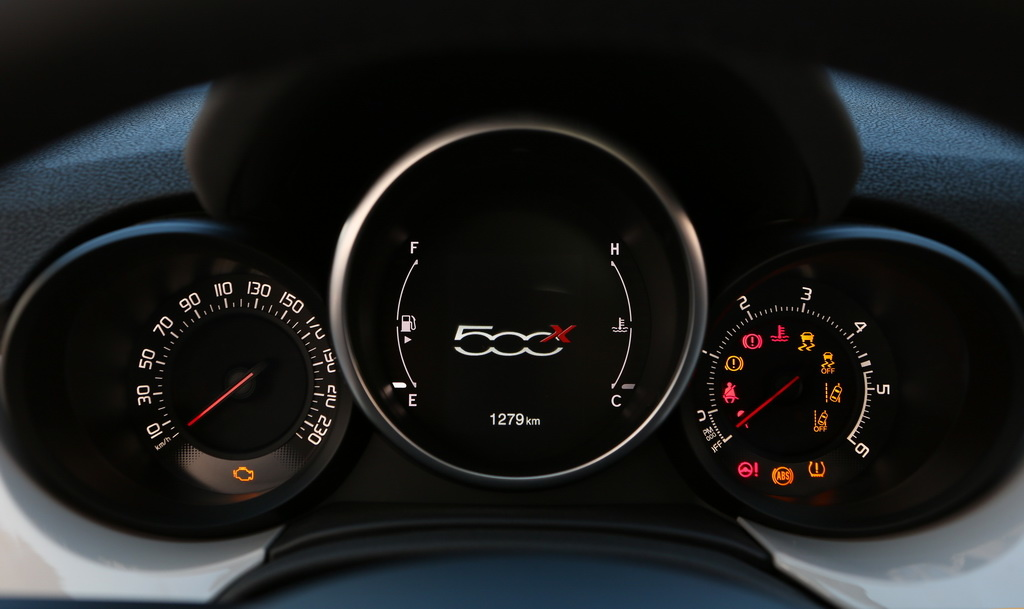 Приборы Fiat 500X