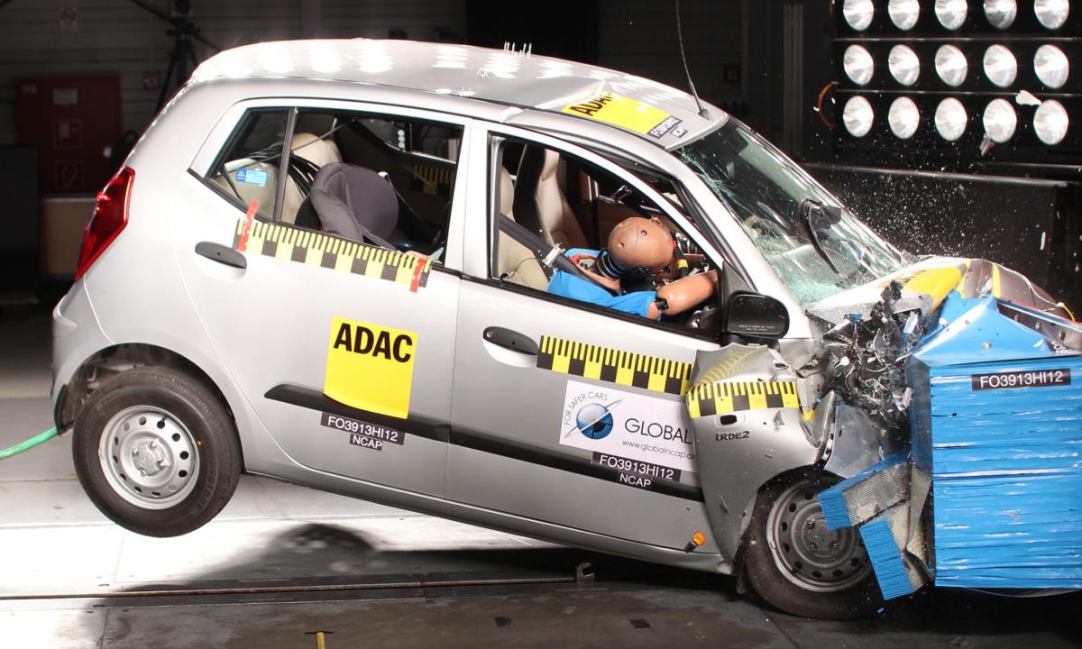 ремень безопасности краш-тест
