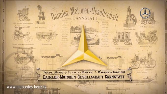 Логотип Mercedes-Benz история