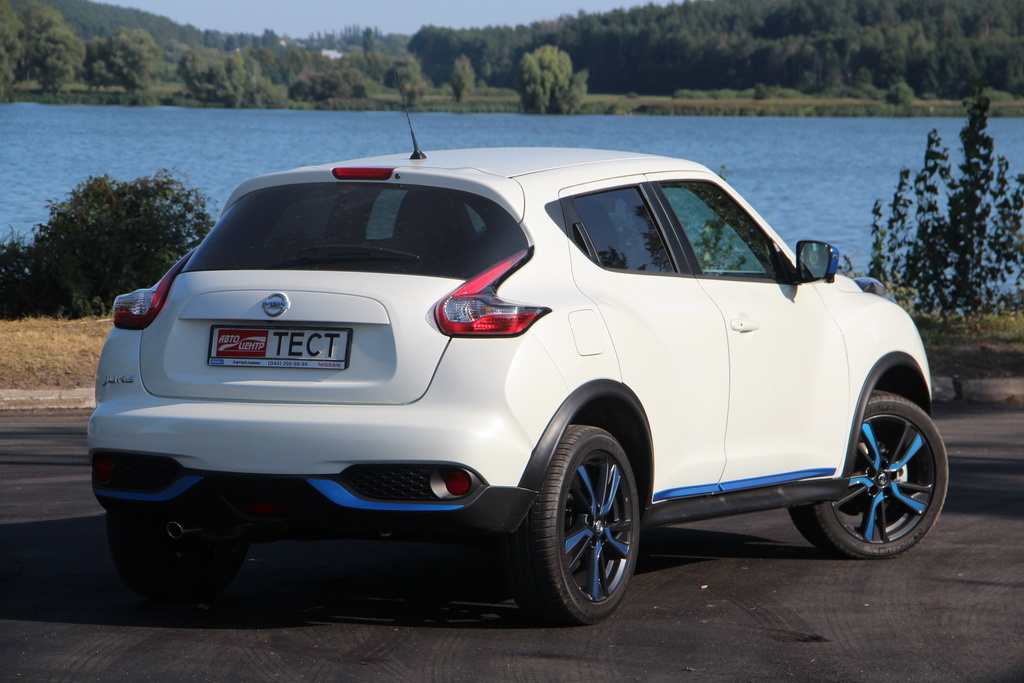 Внешность Nissan Juke 2018 вид сзади