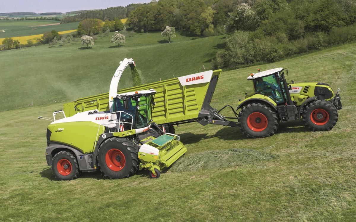 Особенности тракторов Claas