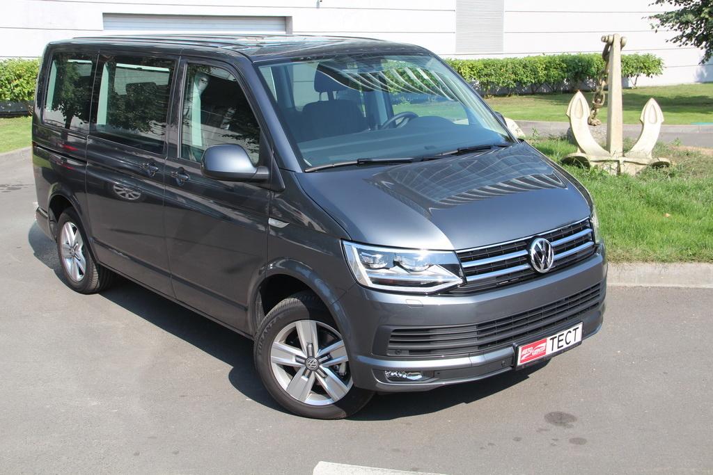 Volkswagen Multivan 2018 вид спереди