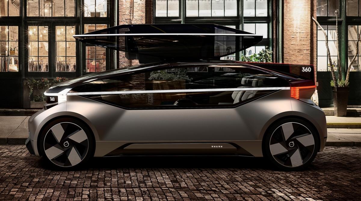 Volvo 360c внешний вид