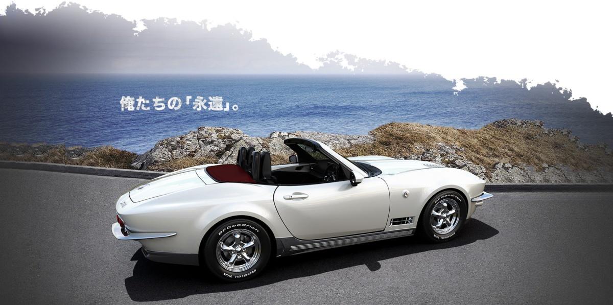 Новую Mazda MX-5 превратили в старый Chevrolet Corvette