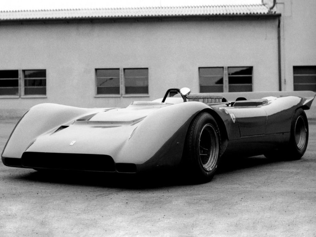 самые жуткие автомобили всех времен - Ferrari 612 Can Am