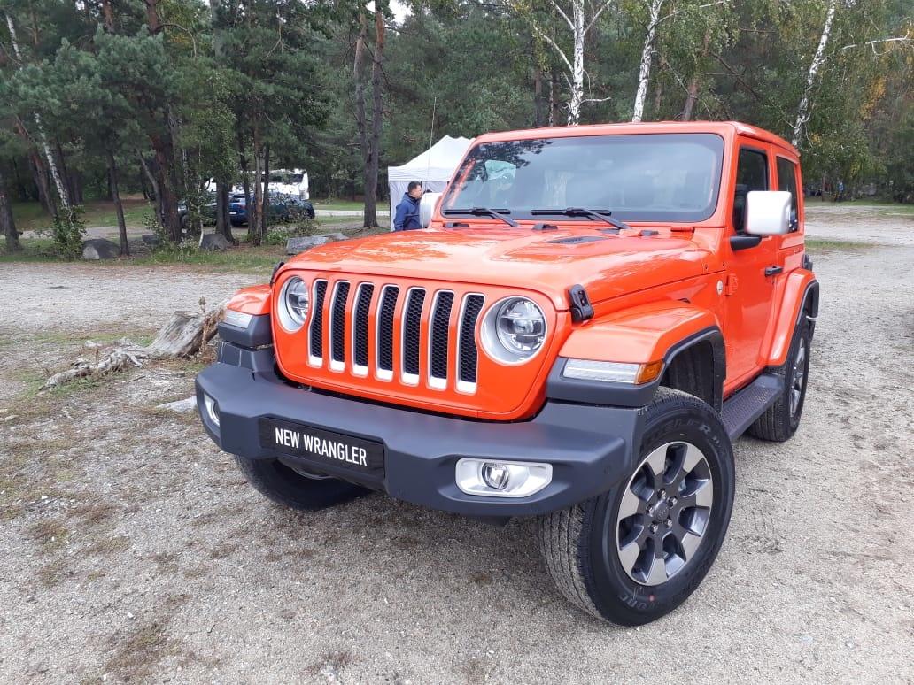 В Украине представили новый Jeep Wrangler 2018