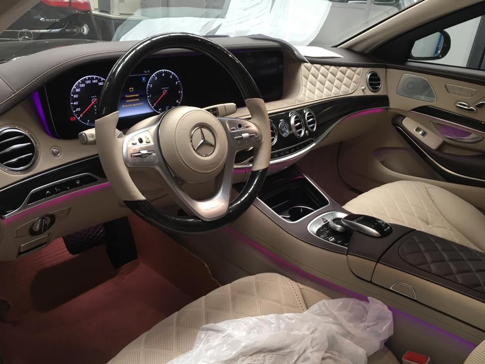 В Украине появился очень серьезно бронированный Mercedes-Maybach