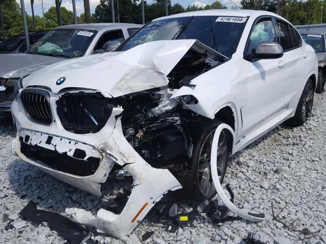 В ДТП разбили новейший заряженный кроссовер BMW