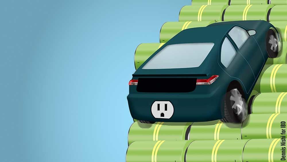рост мировых продаж авто на электротяге 2018