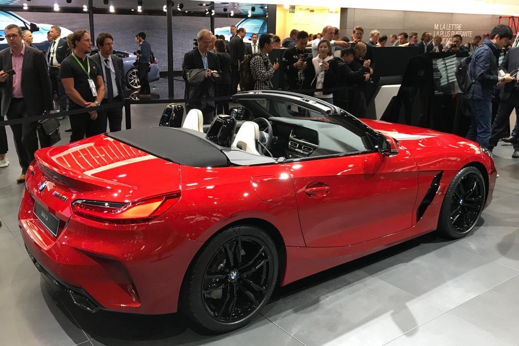 На Парижский автосалон привезли новую BMW Z4 2019