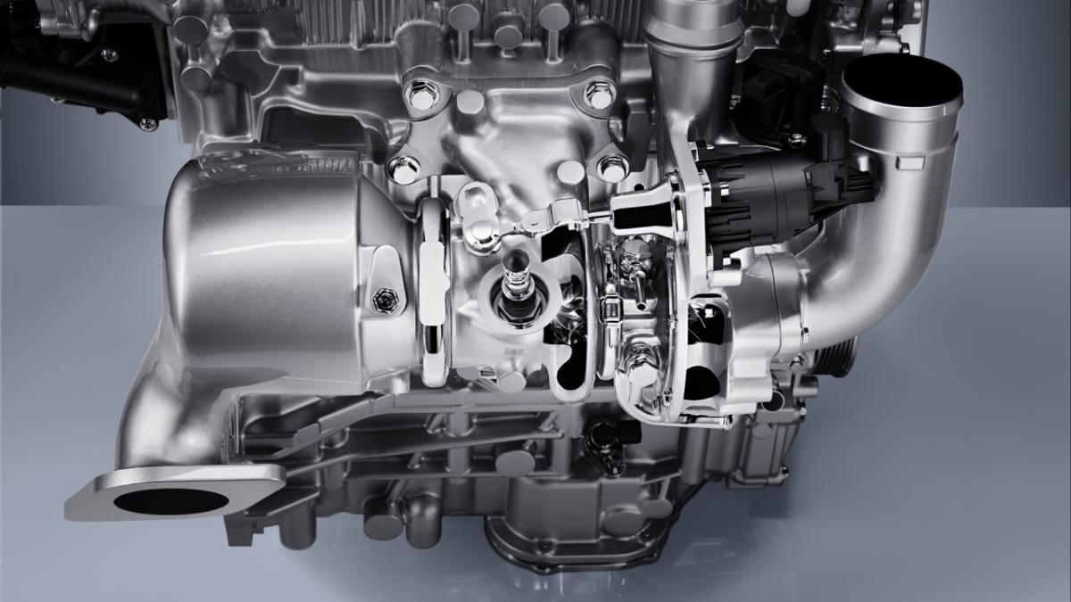 технологии - двигатель с турбонаддувом