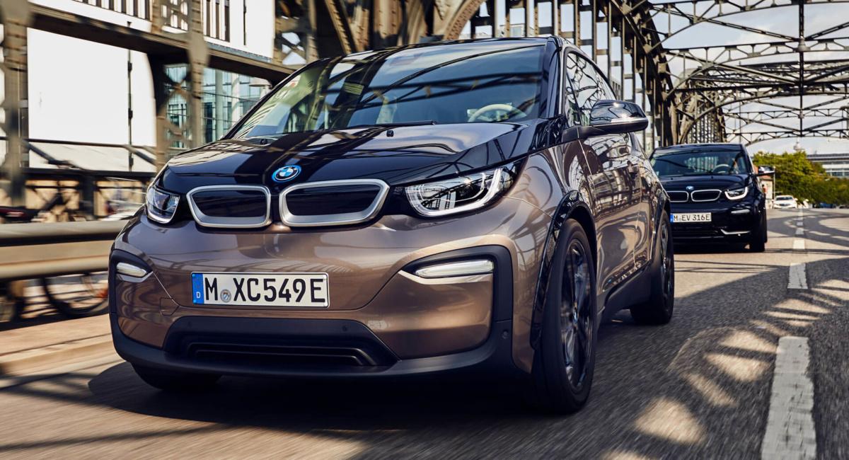 электрокар BMW i3 2019