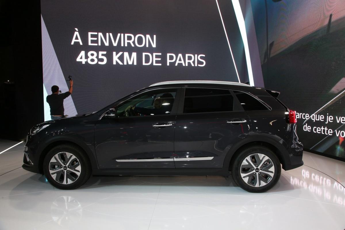 Kia Niro EV Парижский автосалон