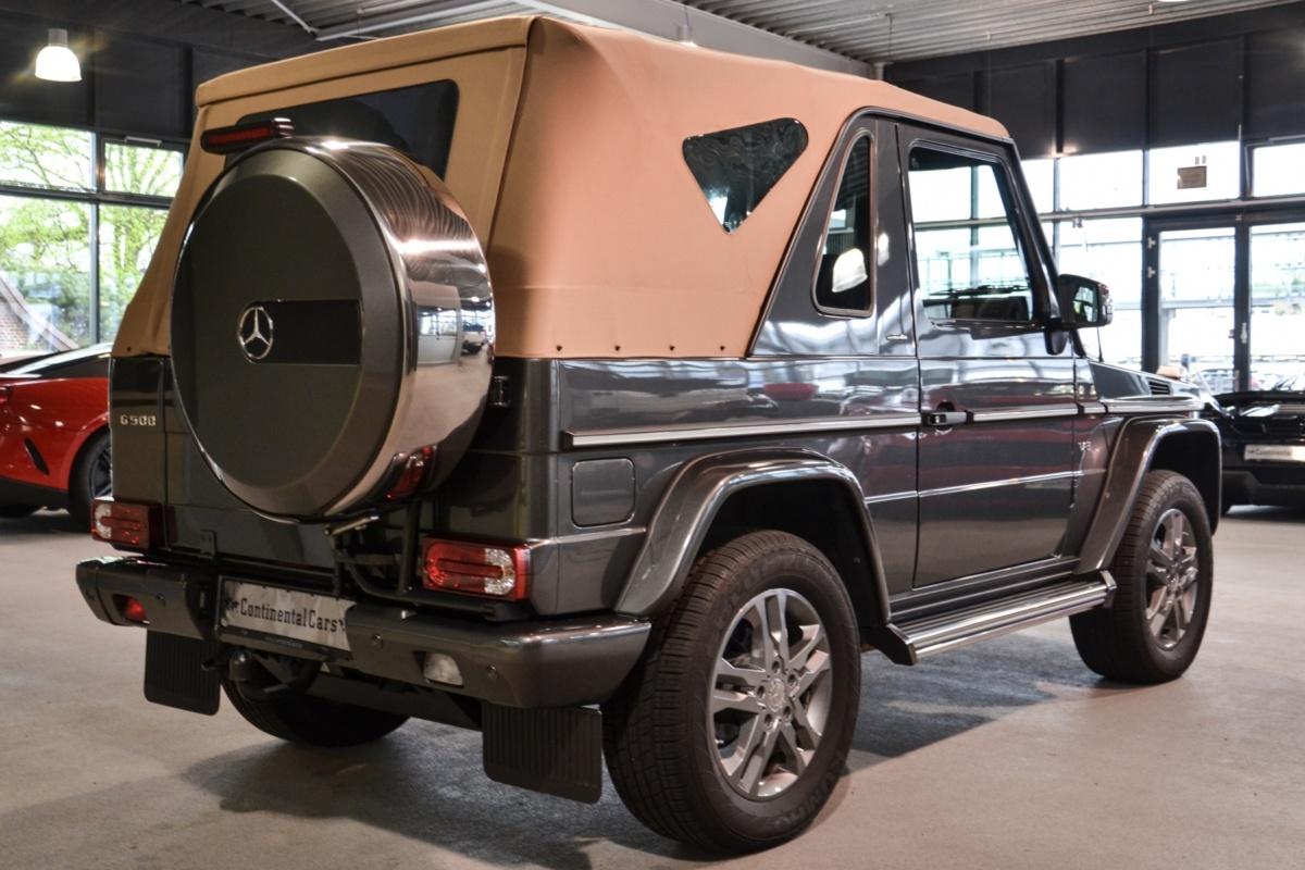 Подержанный Mercedes G500 продают по цене суперкара