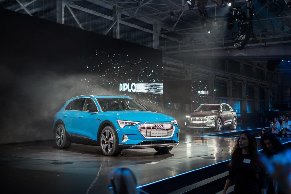 Концепт Audi Е-tron