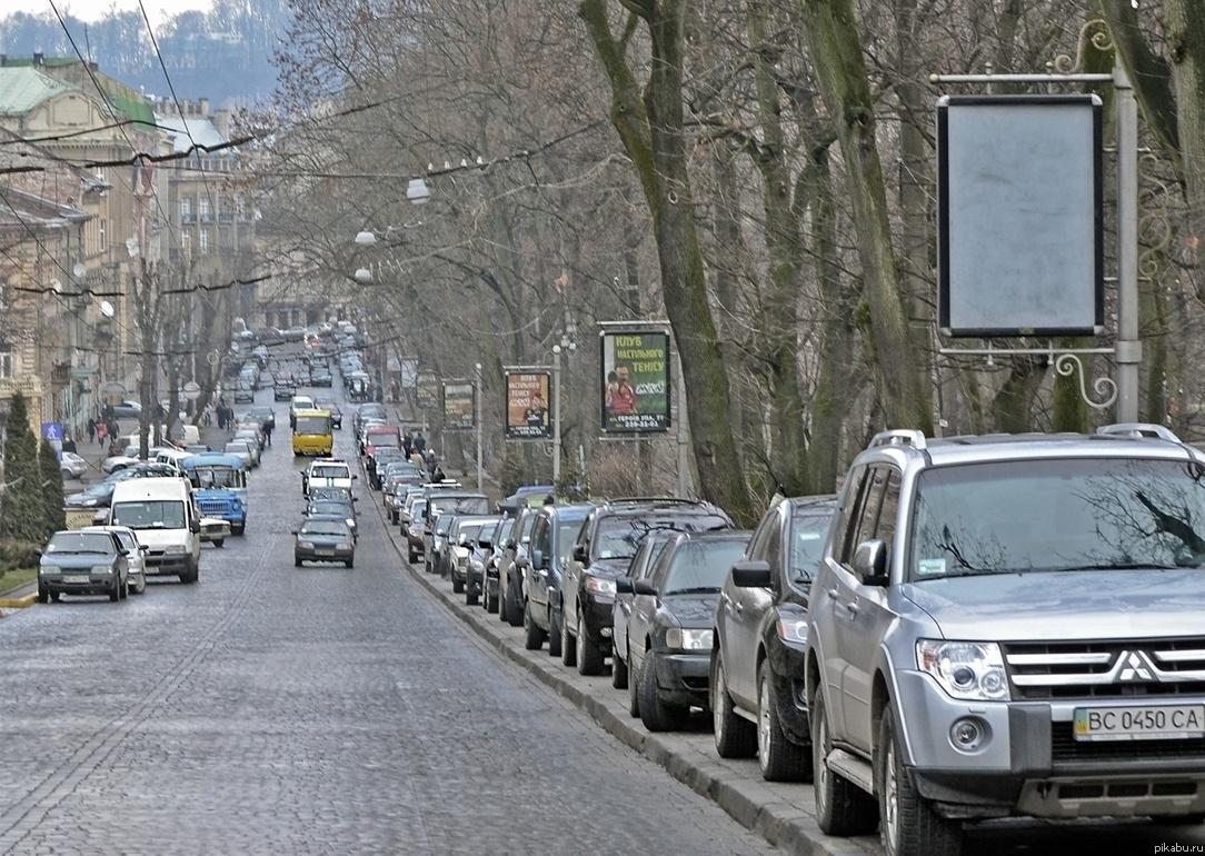 парковка Украина