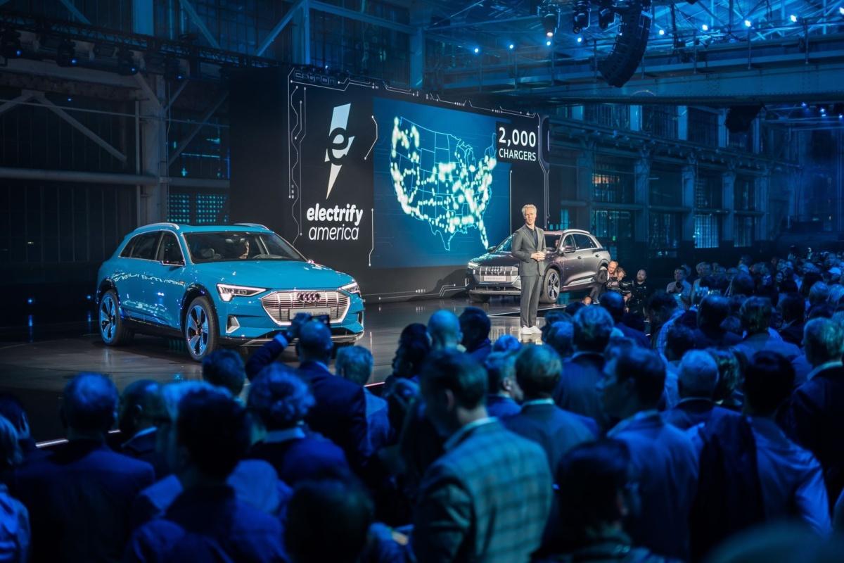 Представление концепта Audi Е-tron