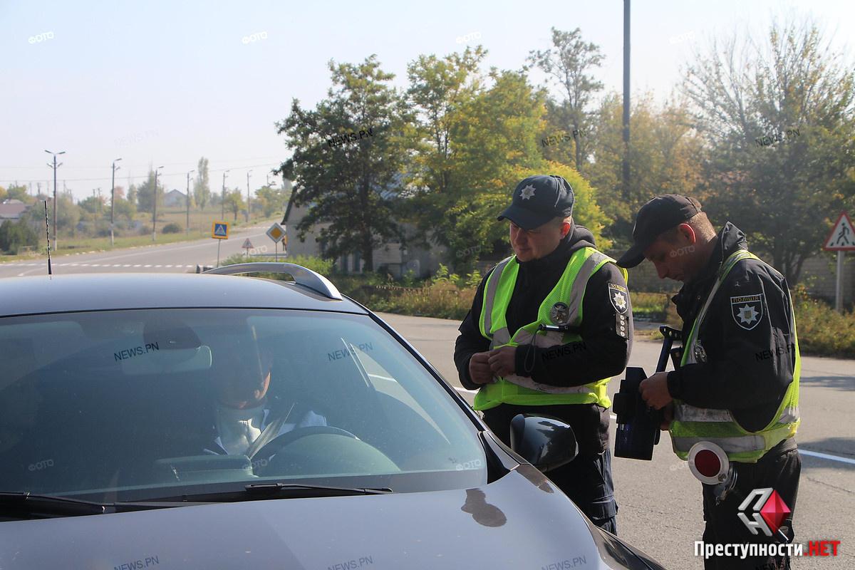 Патрульные Николаева рейд по отлову нарушителей 50 км/ч
