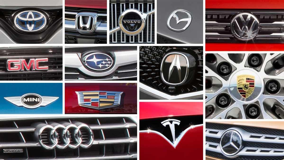 Автомобили каких брендов потребители считают самыми надежными