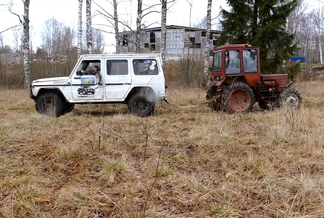 Трактор Т-25 против Gelandewagen