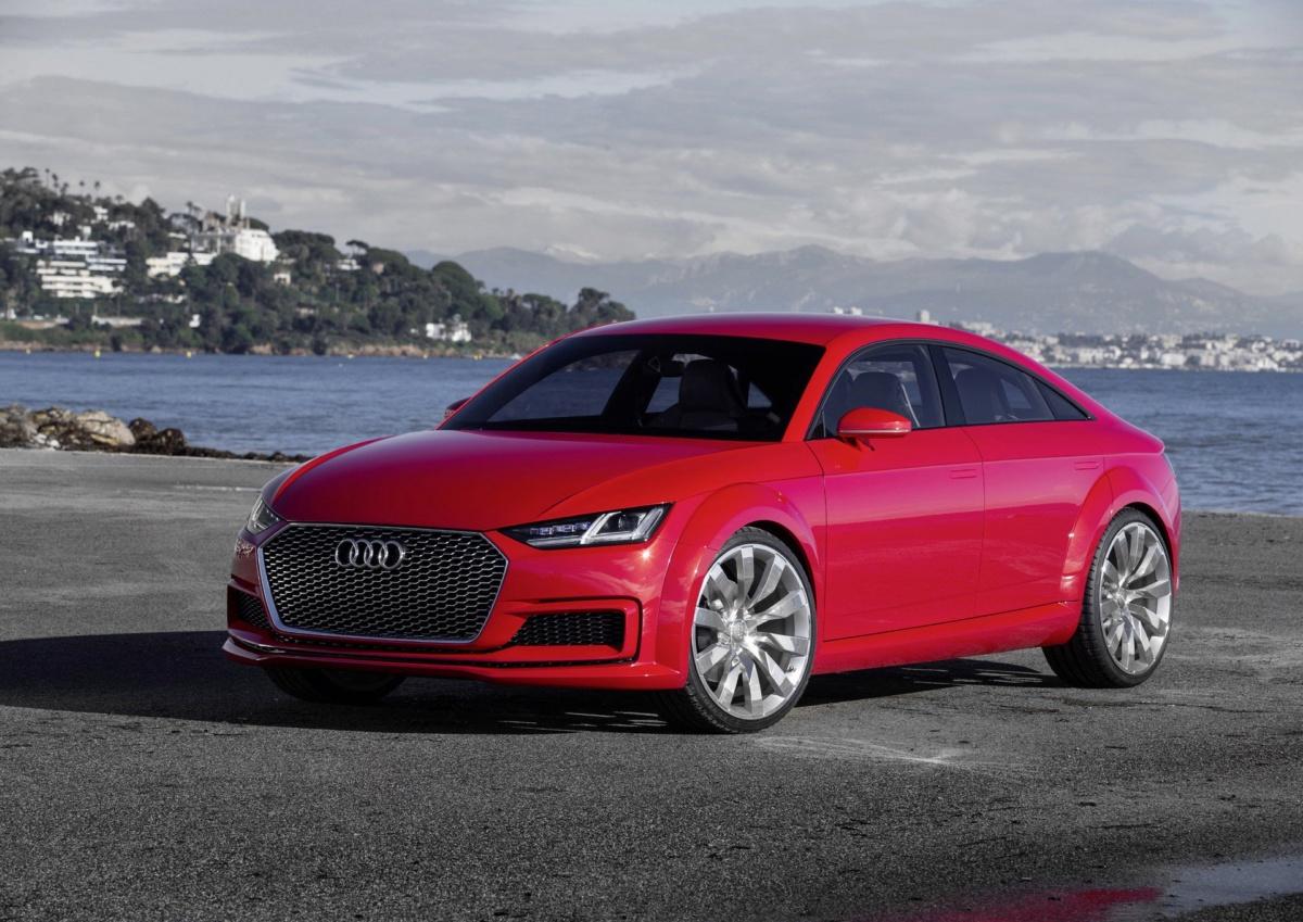 Новая Audi TT 2020: пять дверей и гибридная установка
