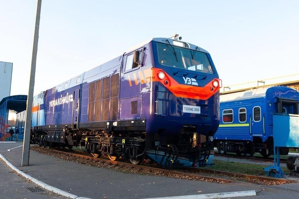Тепловозы General Electric в Украине