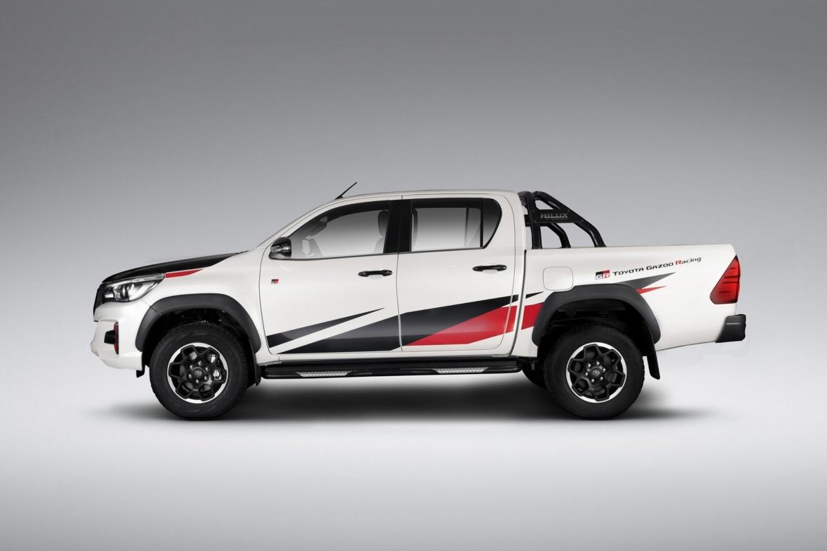 Популярный пикап Toyota получил спортивную версию