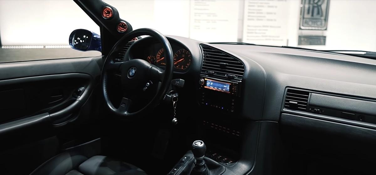 Самая быстрая BMW 3 E36 в Украине: двигатель Toyota Supra и 1000 сил