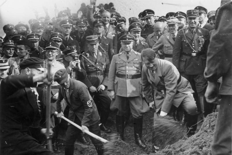 Немецкие автобаны - мифы об их строительстве нацистами