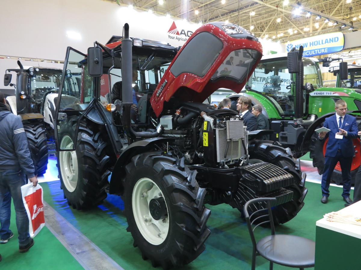 Valtra A95 - достойный конкурент машинам МТЗ