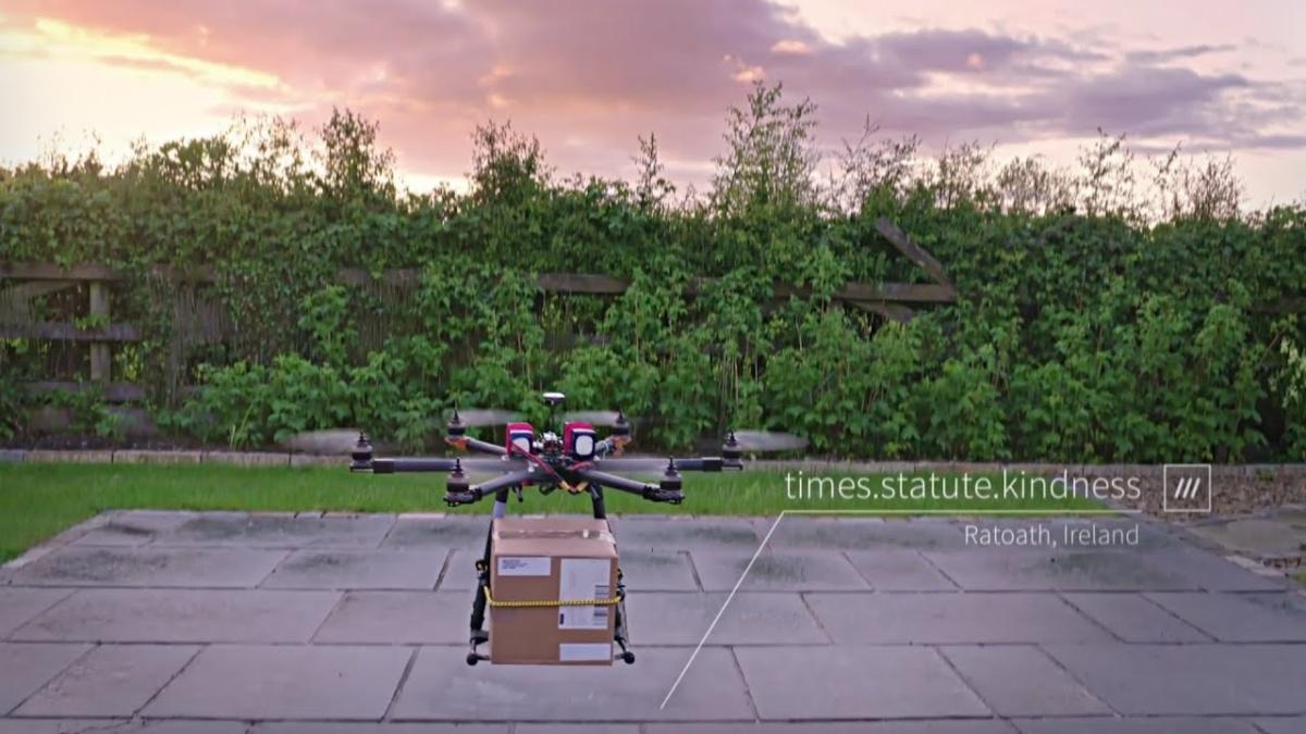 What3Words доставка товаров дронами