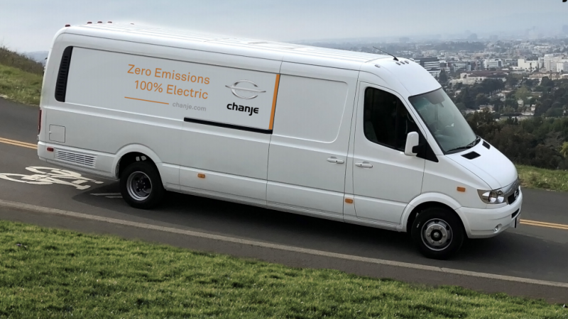 FedEx приобрел 1000 электрофургонов Chanje V8100