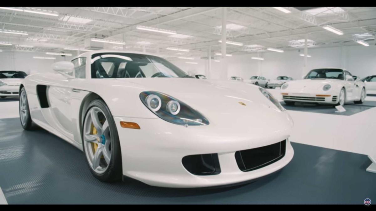 Как выглядит самая необычная коллекция автомобилей Porsche