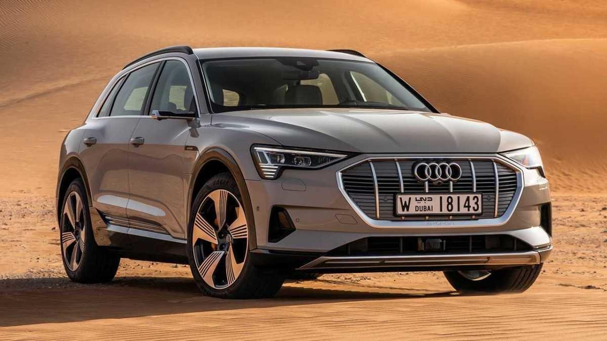 электромобили 2019-2020 - 2019 Audi E-Tron