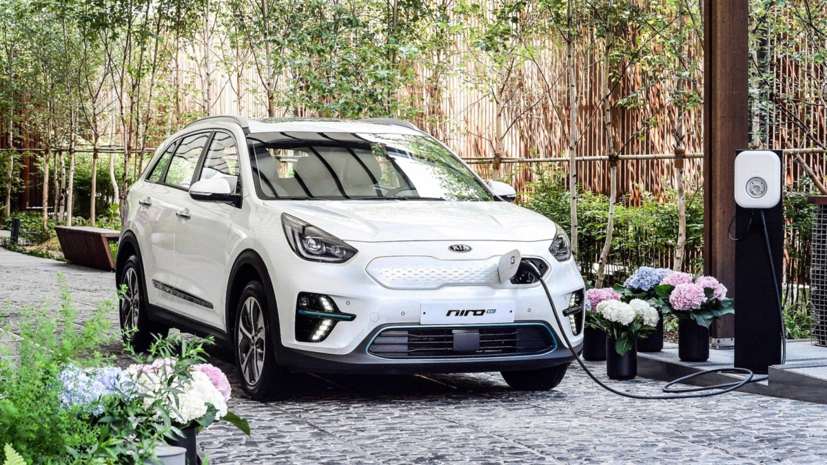 электромобили 2019-2020 - 2020 KIA Niro EV