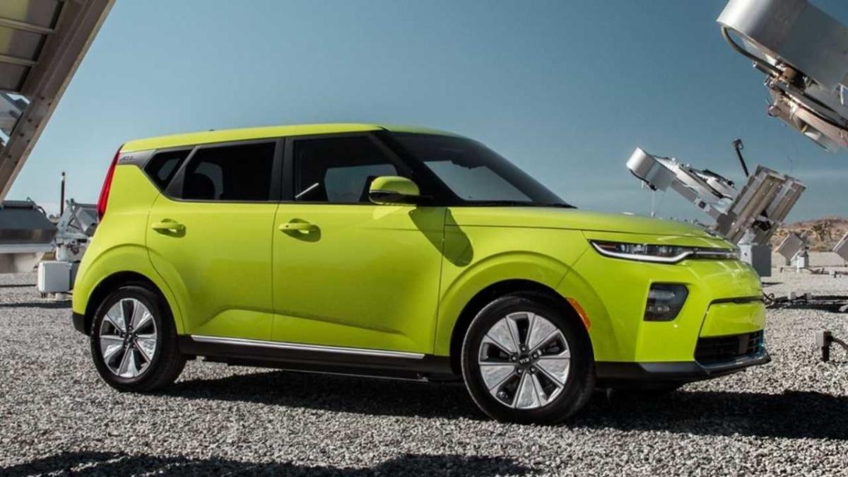 электромобили 2019-2020 - 2020 KIA Soul EV