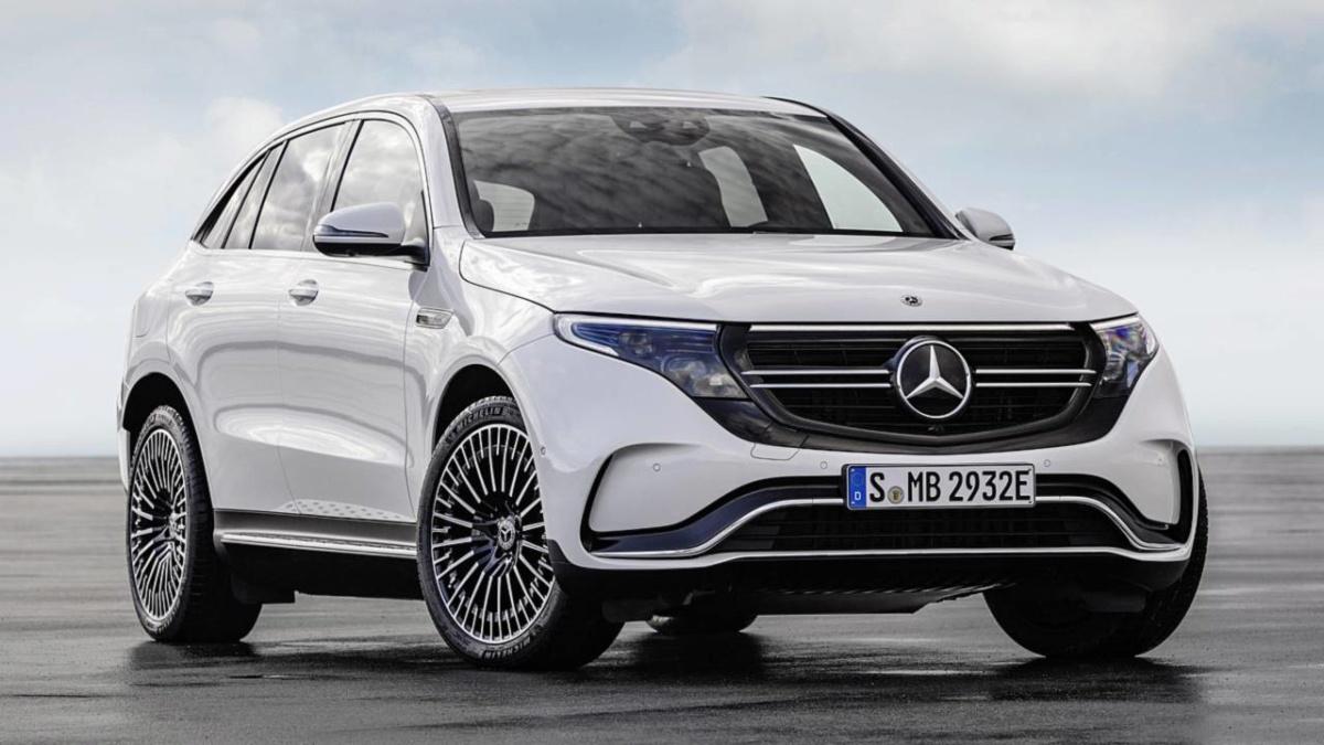 электромобили 2019-2020 - 2020 Mercedes-Benz EQC