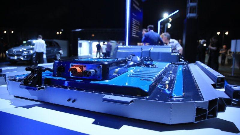 Daimler аккумуляторные батареи для электромобилей