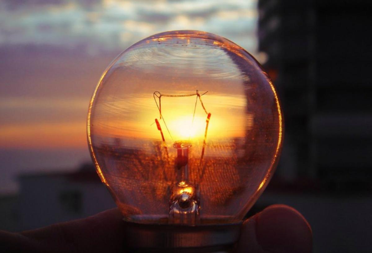 уличное освещение - лампа накаливания