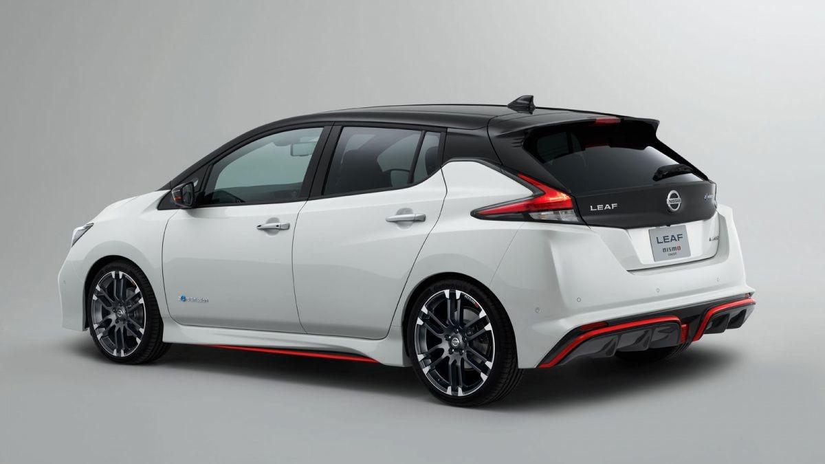 электромобили 2019-2020 - Nissan Leaf E-Plus 2019