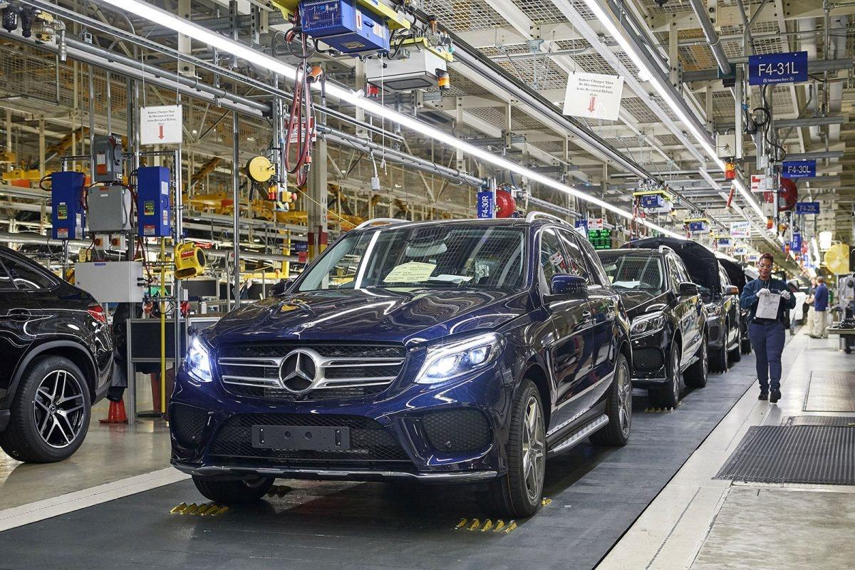 производство Daimler